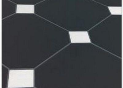 Octógono Negro 31,6×31,6