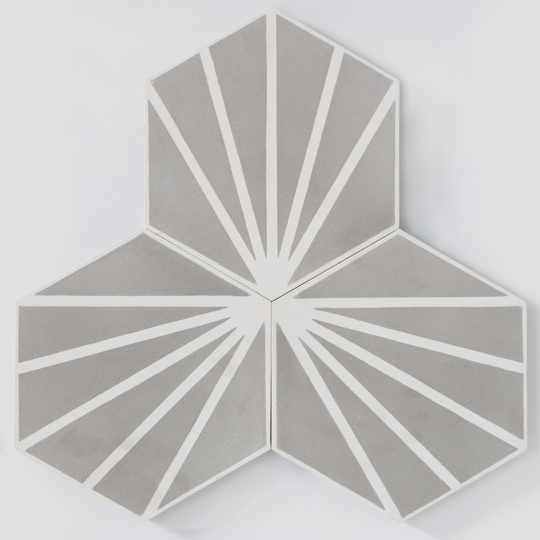 Marockanskt Kakel Azza Svart 20x23 - Formhome